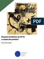 Eleições Brasileiras Sonia Corrêa