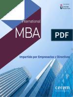 Master Mba Direccion Administracion Empresas