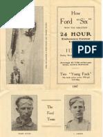 1907 Parts List