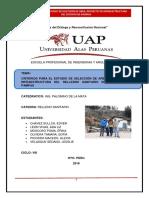 Informe de Pampas