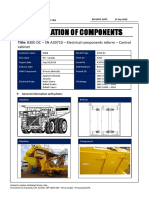 001 - 830E-DC – SN A30710 – Electrical Components Reform – Control Cabinet