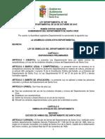 Ley Dptal 109 Ley Simbolos Depto Scz