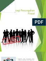 Strategi Pencegahan Fraud