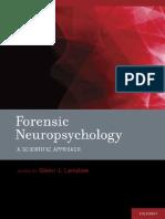Larrabee, Glenn J Forensic Neuropsychology