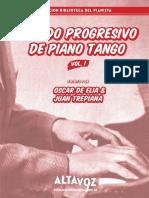 Metodo Progresivo de Piano Tango (Spanish) by Juan Trepiana  &  Oscar De Elía