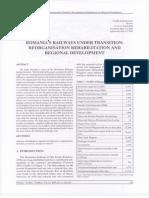 Romanias Railways Under Transition Reorganisation
