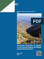 Boletín 45-B Prospección Geoquímica de Segunda Fase en La Cuenca Superior de La Margen Izquierda Del Rio Apurimac