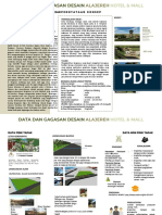Skematik desain, Mixed use building , Alajereh hotel dan mall