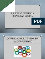 Ejercicio Público y Bienestar Social - Copia