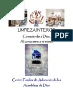 LIMPIEZA INTERIOR Conociéndome a Mí Mismo Manual Consolidado (1)