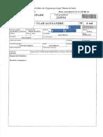 Documente medicale Vladut