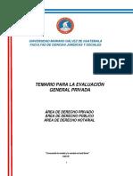 Temario Evaluacion General Privada