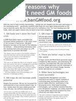 10reasons GM Food