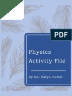 physics activity grade12