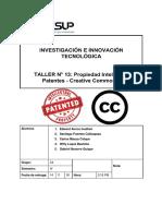 10. Taller N° 13_ Patentes