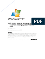 Windows Vista Multilingual User Interface Step by Step Guide