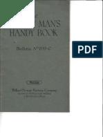 The Battery Man's Handy Book Willard 1921Bulletin No. 109-C