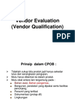 3. Vendor Evaluation
