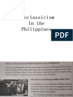 Neoclassicism in the Phil.