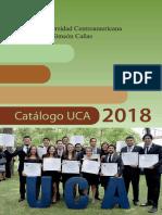 Catalogo UCA 2018