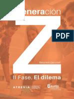 ElDilema GeneracionZ-resumen Ejecutivo