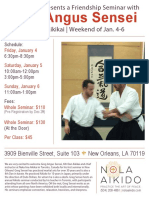 Greg Angus Sensei Friendship Seminar in New Orleans January 2019