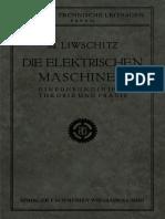 Die Elektrischen Maschinen Einf Hrung in Ihre Theorie Und Praxis