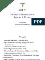 Optical Fiber Communications, 3e - Gerd Keiser.ppt