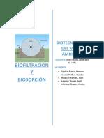 Biofiltración y Biosorcion