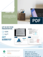Pitch Deck for Start-up