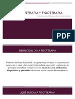 Equinoterapia y Fisioterapia 2018