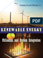 Renewable Energy Utilization and System Integration