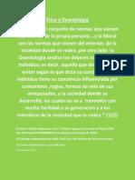 La Deontología Analiza Los Deberes Internos Del Individuo