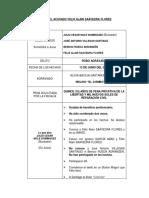 Juicio Del Acusado Felix Alain Saavedra Flores
