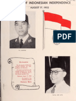 7 Years of Indonesian Independence, August 17, 1952