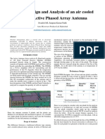 Thermal Design and Analysis of an Air Cooled X-Band Active Phased Array Antenna-IRSI 17-004