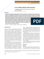 Biologic Treatments for Elderly Psoriasis Patients