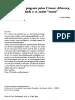 A educação e a pergunta pelos Outros.PDF