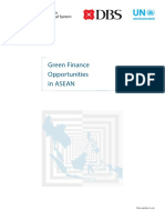 Green Finance Opportunities in ASEAN