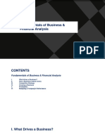 198 Fundamenals of Business Financial Analysis