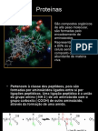 Biologia PPT - Proteínas