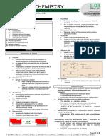 Biochemistry 1.01