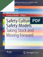 2018 Book SafetyCulturesSafetyModels