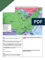 war of 1812 timeline homework  sheet  chapter 6 section 4