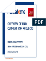 3_Overview of Main Current MSR Projects_V3