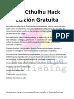 Cthulhu Hack Edición Gratuita