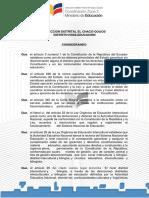 Resolución Gobierno Escolar Avelino Silva