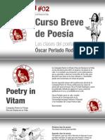 Poetry in Vitam #02 - Curso Breve de Poesía Por Óscar Perlado