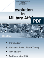 113205853 Revolution in Military Affairs Theory Lecture Bachelors Degree