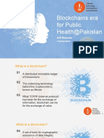 Blockchains Era for Public Health@Pakistan